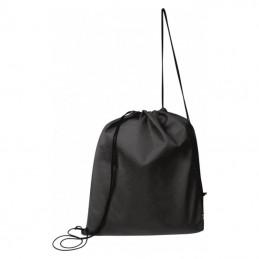 Rucsac cu siret / Non-Woven sports bag Seoul - 086103, Black