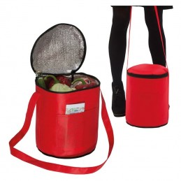 Cooler rotund diametru 25 cm - 013905, Red