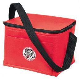 Cooler bag 6 doze - 827605, Red
