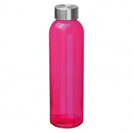 Bidon 550 ml plastic ECO - 139411, PINK