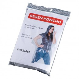 pelerina Emergency poncho Tours - 921866, Transparent
