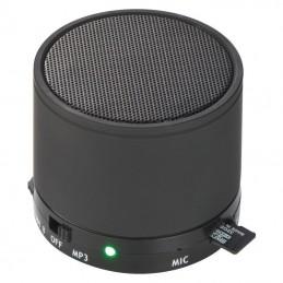 Boxa wireless  3 W cu slot MicroSD functionare 5 ore - 336903, Black