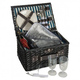 Cos picnic pentru 2 persoane - 085803, Black