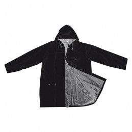 Pelerina cu capse cu 2 fete colorate - 920537, Black/grey