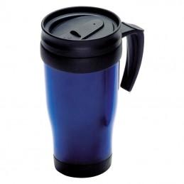 Cana termoizolanta 400 ml plastic - 561004, Blue