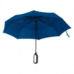 Umbrela pliabila cu maner pentru logo - 088504, Blue