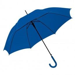 Umbrela cu maner plastic curbat - 520004, Blue