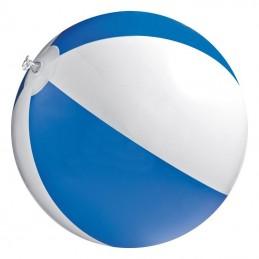 Minge plaja bicolora  panel 40 cm diametru 26 cm - 105104, Blue