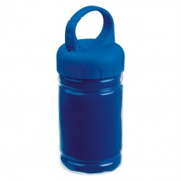 Prosop microfibra in bidon plastic - 088404, Blue