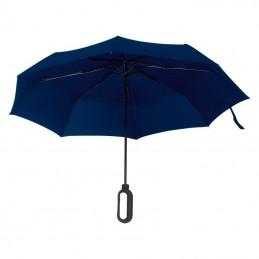 Umbrela pliabila cu maner pentru logo - 088544, Dark Blue