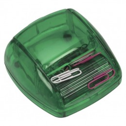 Dispenser cu 20 agrafe birou - ART196309, Green