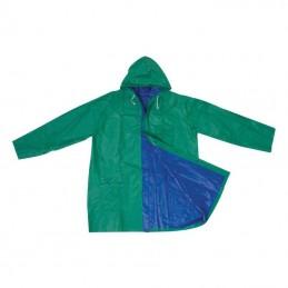 Pelerina cu capse cu 2 fete colorate - 920549, Green/blue
