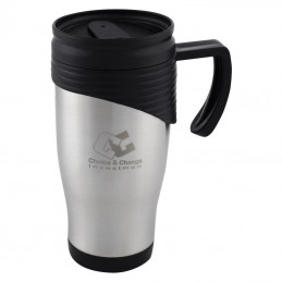 cana termica 400 ml plastic BPA FREE - 530007, Grey