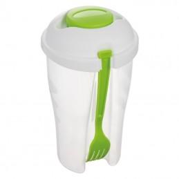 Pahar cu furculita pentru salate - 861829, Light green