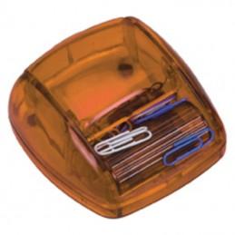 Dispenser cu 20 agrafe birou - ART196310, Orange