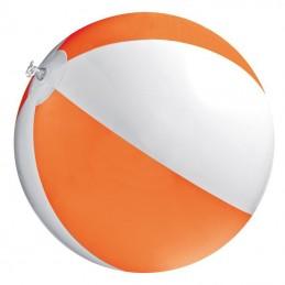 Minge plaja bicolora  panel 40 cm diametru 26 cm - 105110, Orange