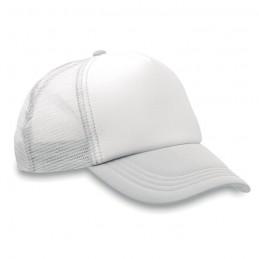 TRUCKER CAP - Şapcă din poliester (plasă, î  MO8594-06, White