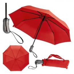 Umbrela pliabila inchidere si deschidere automata - 351905, Red