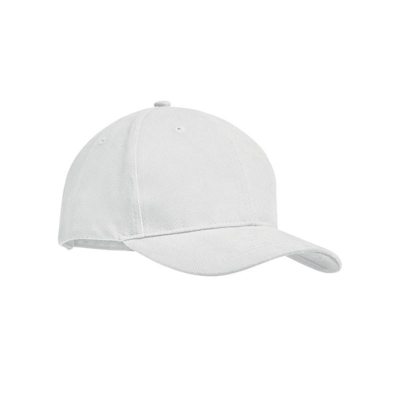 TEKAPO - Șapcă baseball din bumbac      MO9643-06, White