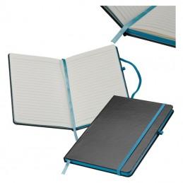 Carnetel A5 160 pagini liniate coperti PVC - 037914, Turquoise