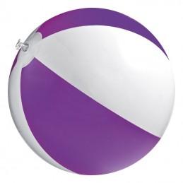 Minge plaja bicolora  panel 40 cm diametru 26 cm - 105112, Violet