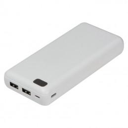 Powerbank 20000 mAh carcasa plastic - 149806, WHITE