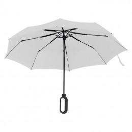 Umbrela pliabila cu maner pentru logo - 088506, White