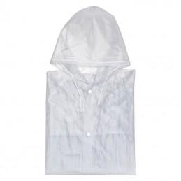 pelerina cu capse semi-transparenta - 910166, White