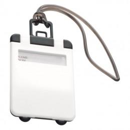 Eticheta pentru bagaj cu capac colorat - 791806, White