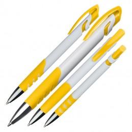 Pix plastic alb si manson culoare - 004908, Yellow