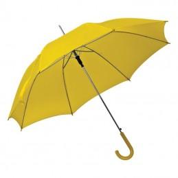 Umbrela cu maner plastic curbat - 520008, Yellow