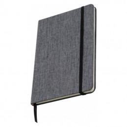 Carnetel A5 160 pagini liniate coperti 300D - 082907, Grey