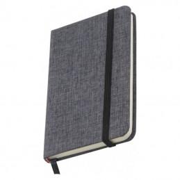Carnetel A6 160 pagini liniate coperti 300D - 083007, Grey