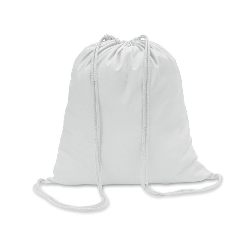 COLORosu - Sacoşă din bumbac 100 gr/m2, c MO8484-06, White