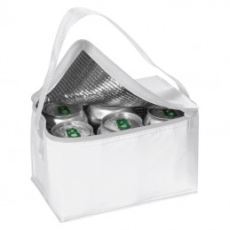 Cooler bag 6 x 0.33 l Aspen - 700406, White
