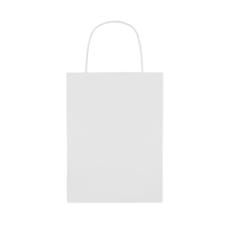 PAPER SMALL - Pungă mica de cadou.           MO8807-06, White