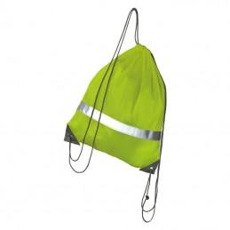 Rucsac cu siret s banda reflectorizanta - 045308, Yellow