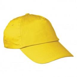 Sapca simpla 5 panele - 044708, Yellow