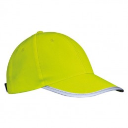 Sapca cu banda reflectorizanta - 339708, Yellow
