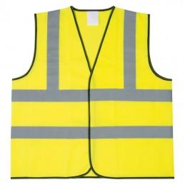 Vesta cu banda refelctorizanta  - 099508, Yellow