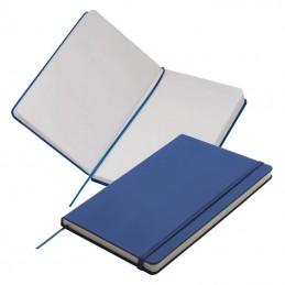 Carnetel A5  160 pagini veline coperti PU - 312104, Blue