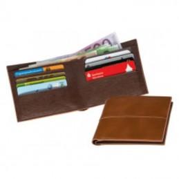 Portofel barbati cu 8 suport card - 355701, Brown