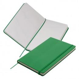 Carnetel A5  160 pagini veline coperti PU - 312109, Green