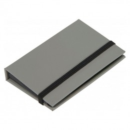Port card cu notite adezive - 082807, Grey