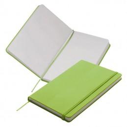Carnetel A5  160 pagini veline coperti PU - 312129, Light green