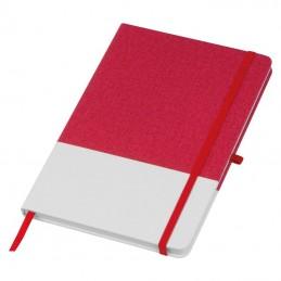 Carnetel A5 cu 160 pagini matematica coperta PU - 144505, RED