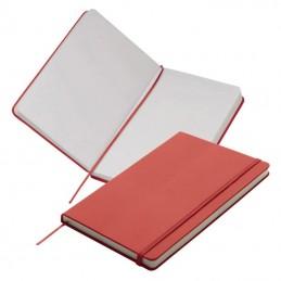Carnetel A5  160 pagini veline coperti PU - 312105, Red