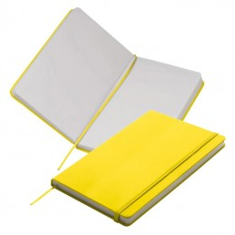 Carnetel A5  160 pagini veline coperti PU - 312108, Yellow