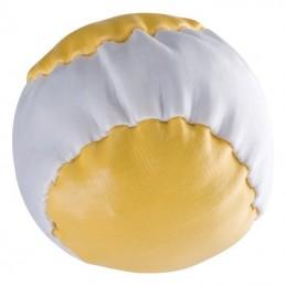 Antistress bicolor cu granule plastic - 270008, Yellow