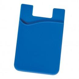 Suport card pentru spatele telefonului - 286404, Blue
